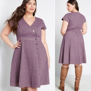 ModCloth | Sentimental Special Tweed Dress